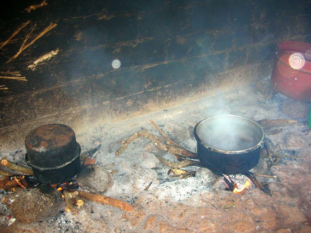 Die alte Kochstelle